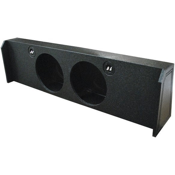 Shop Qpower Dual 12 Empty Woofer Box For 2009 14 Ford F150 Under