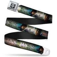 Winchester Logo Full Color Black White Supernatural Join The Hunt Seatbelt Belt