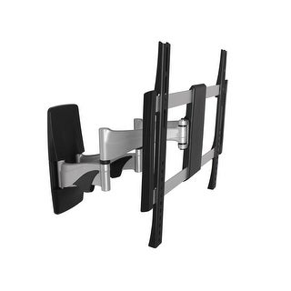 """MonopriceFull Articulating TV Wall Mount for Most 32"""" ~ 55"""" Flat Panels, UL Certified"""