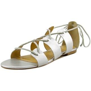 Sixth + Love Priscilla Women  Open Toe Leather  Gladiator Sandal
