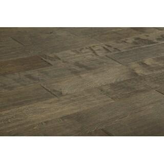 "Kanstar Engineered Hardwood - 17.5 sq. ft. Myth Birch Collection Monroe / Birch / Handscraped / 5"" / 3/8"" / 47.24"""