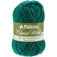 Classic Wool DK Superwash Yarn-Emerald - Green