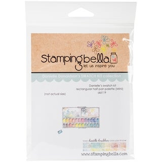 Stamping Bella Danielle's Rubber Stamps-Mini Rectangular Half Pan Palette