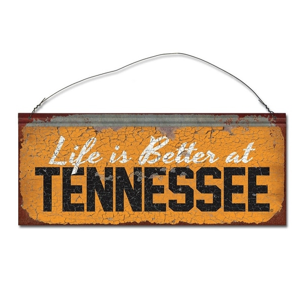 University of Tennessee 'Life is Better' Tin Sign
