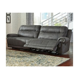 Link to Austere Gray 2-Seat Reclining Sofa Similar Items in Sofas & Couches
