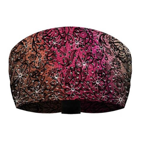 That's A Wrap Women's Bling Rhinestone Lacy Lady Knotty Band KB2212R-MAUVE - One Size Fits Most
