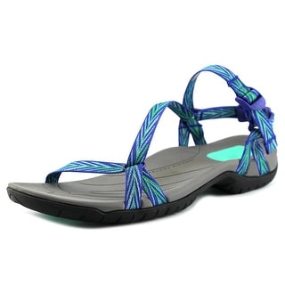 Teva Zirra Women Open-Toe Synthetic Blue Sport Sandal