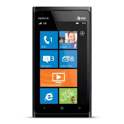 Nokia Lumia 900 RM-808 16GB Unlocked GSM 4G LTE Windows OS Phone - (Certified Refurbished)
