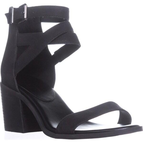 Jessica Simpson Rayvena Heeled Sandals, Black