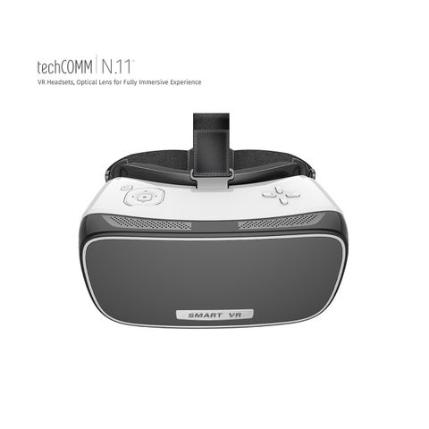 TechComm Hercules 3D Android 2GB VR Headset with Max Surrounding Audio, Wi-Fi, HDMI Input and High-Tech Sensor