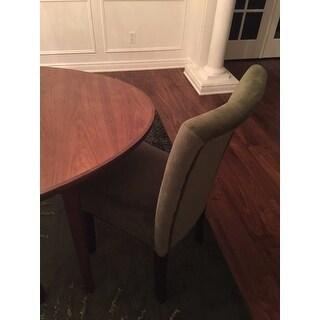 Homepop Velvet 2 Pack Parson Dining Chair Free Shipping