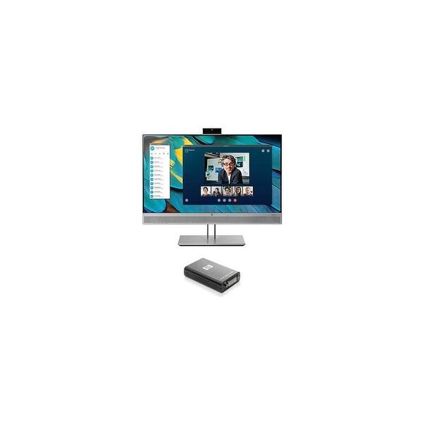 HP EliteDisplay E243m Monitor w/ USB External Video Adapter EliteDisplay E243m Monitor