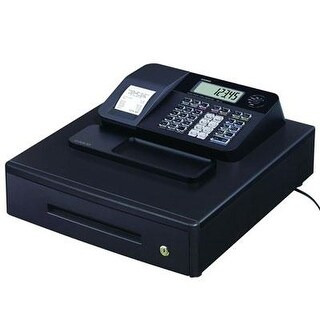 Casio Pcr-T273 Electronic Cash Register With Thermal Printer, Black