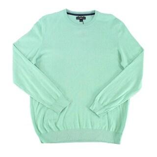 Club Room NEW Neptune Green Men Size Medium M Pullover Crewneck Sweater