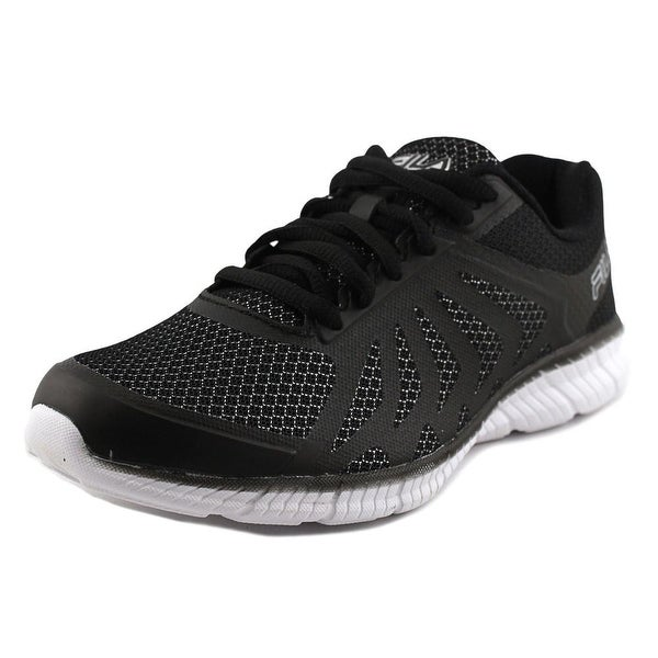 Fila Memory Faction 2 Women Round Toe Synthetic Black Sneakers