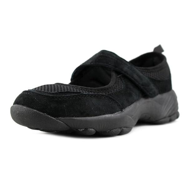 Propet Wash & Wear Mary Jane Women Black Flats