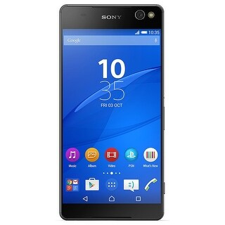 Sony Xperia C5 Ultra E5506 16GB Unlocked GSM Android Phone w/ Dual 13MP Front & Back Camera - Black