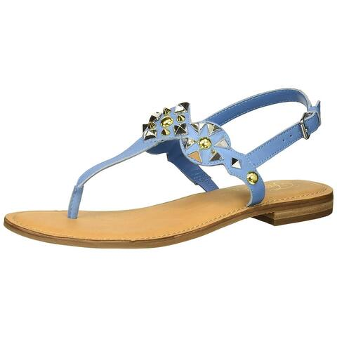 Fergie Womens Mariana Open Toe Casual T-Strap Sandals