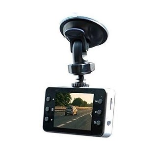 Jem Accessories ADC2-1005-BLK Dashboard Camera with 4GB Memory