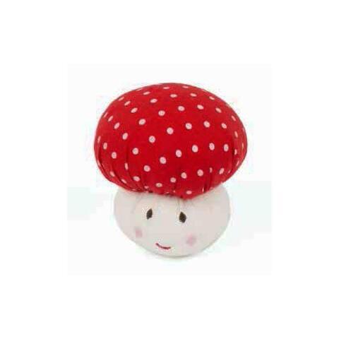 Needle Creations Kit Pincushion Mushroom Red - White - Medium