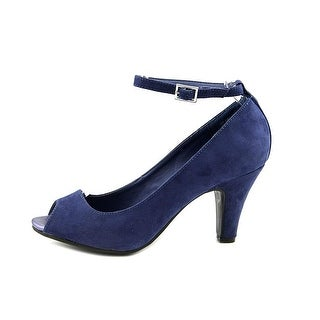 American Rag Womens WILLA Peep Toe Ankle Strap Classic Pumps