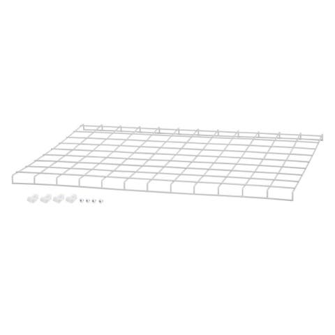 """Westinghouse 636356911 24"""" Wide Steel Wire Guard for Westinghouse 63635 High Bay - White"""