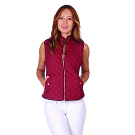 Simply Ravishing Women's Lightweight Quilted Vest (Size S - 3X) (More options available)