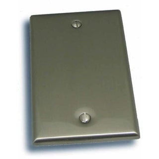 """Residential Essentials 10811 4.5"""" X 2.75"""" Single Blank Switch Plate Featuring a Rustic / Country Theme"""