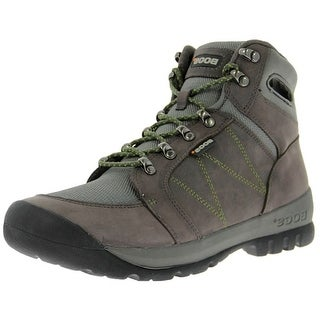 Bogs Outdoor Boots Mens Bend Mid Nubuck Hiking Mesh Leather