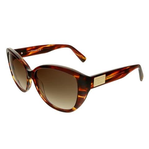 Dsquared DQ0128/S 71P Havana Cat Eye Sunglasses - 58-14-140