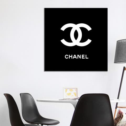 "iCanvas ""Chanel Black"" by Art Mirano Canvas Print"