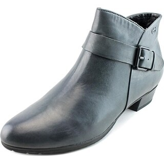 Gerry Weber Caren 07 Women Round Toe Leather Blue Ankle Boot