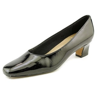 Life Stride Jade Women C Round Toe Synthetic Black Heels