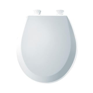 Bemis 500EC Round Closed-Front Toilet Seat and Lid with Easy-Clean & Change Technology - N/A