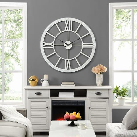 Big Time Wall Clock, Plastic, 40 x 2 x 40 in, American Designed