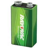 Rayovac Pl1604-1 Genb Ready-To-Use Rechargeable Nimh Batteries (9V; 200Mah, Single)