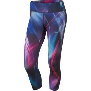 Nike Womens Athletic Leggings Tight Fit DRI-FIT