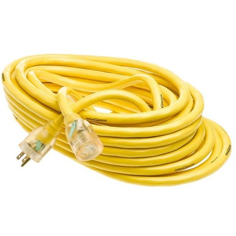 Yellow Jacket 2805 Commercial Extension Cord, 50', Yellow