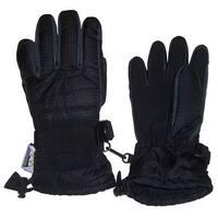 NICE CAPS Men's Thinsulate and Waterproof Premium Winter Ski Gloves