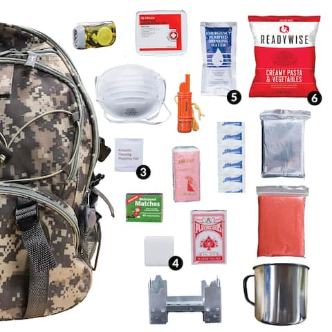 ReadyWise 5-day Survival Back Pack Camo