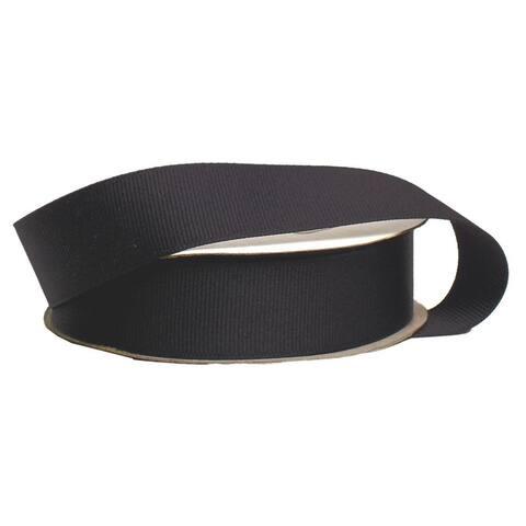 "Offray Ribbon Grosgrain 7/8"" Black"
