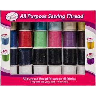 Designer's Choice All Purpose Sewing Thread-24/Pkg