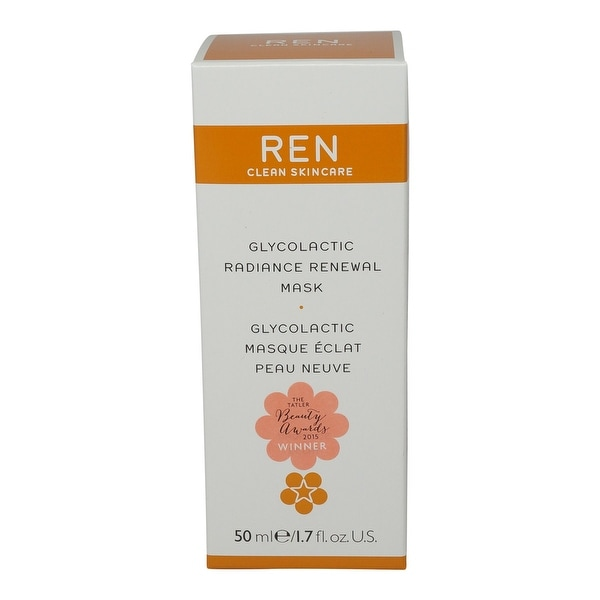 REN Skincare Glyco Lactic Radiance Renewal Mask - 1.7 Ozs