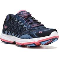 Ryka Women's Dominion Walking Shoe Insignia Blue/Elsa Blue/Coral Rose