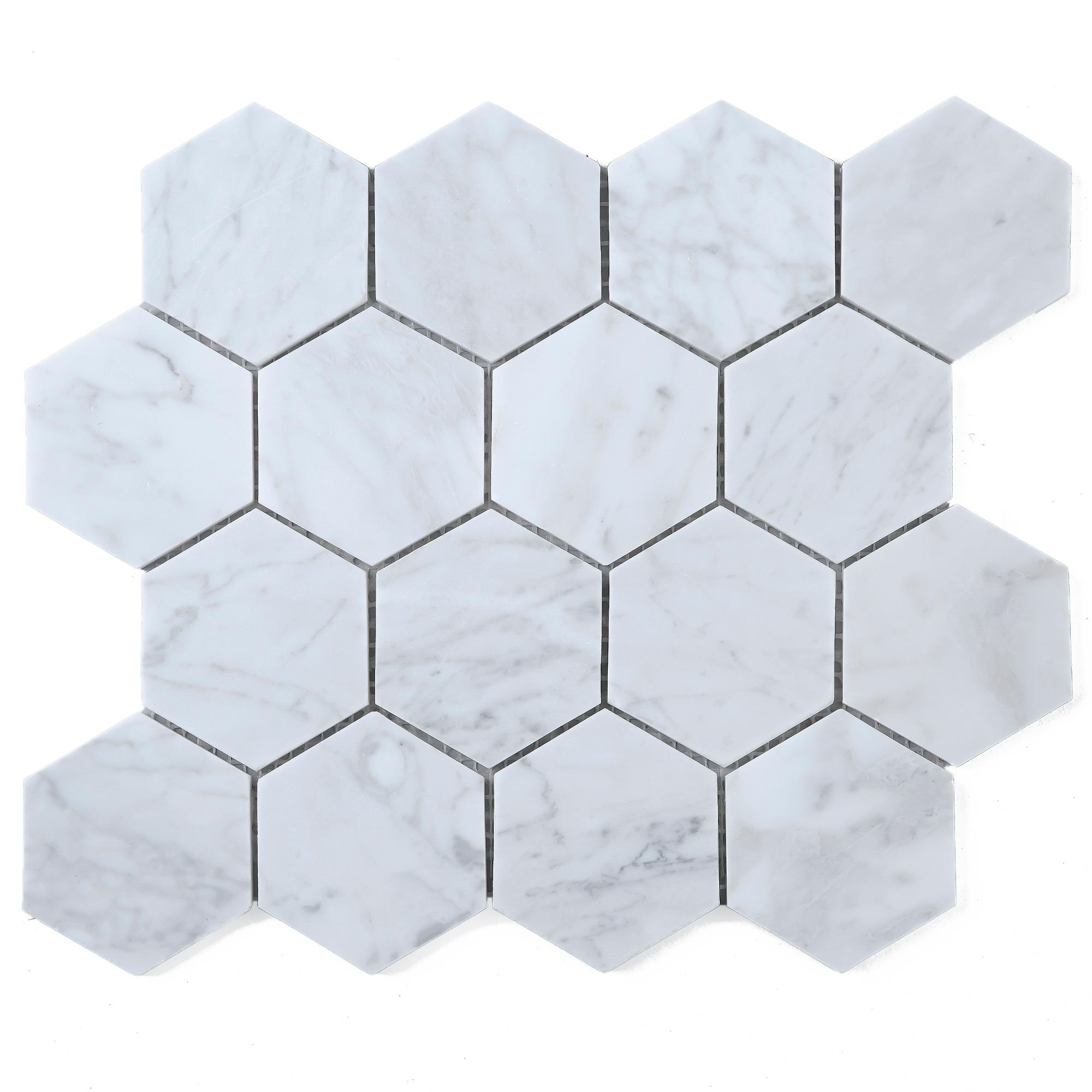 Box of 5 Sheets Chip Size 3x3 Hexagon,12x10-1/2x3/8 CWMM3HEX ...