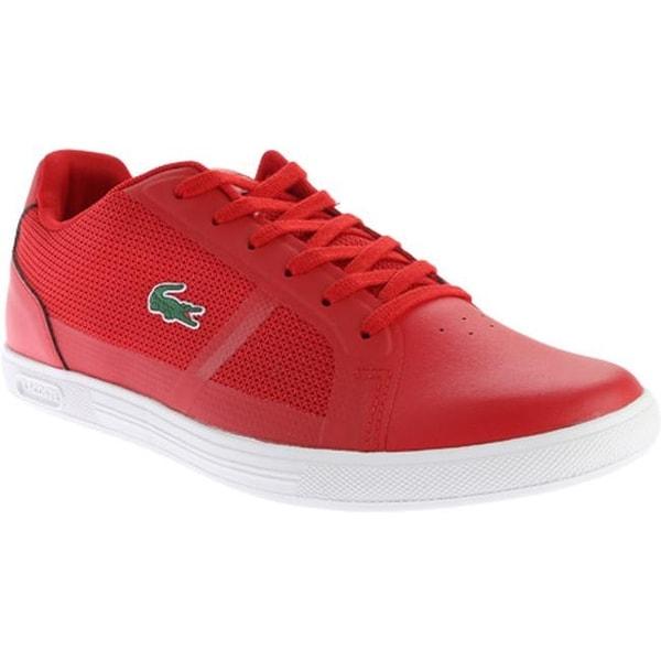 9f073268f ... Men s Shoes     Men s Sneakers. Lacoste Men  x27 s Strideur 216 1 Sneaker  Red Textile Synthetic