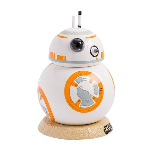 Cookie Jar - Star Wars BB8 Sculpted 9 inch Hand painted Ceramic