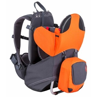 Phil and Teds Escape Carrier- Orange/Grey Baby Carrier - Compact Lightweight