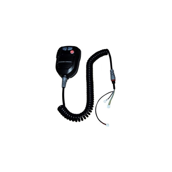Standard Horizon CB3559001 Replacement Microphone with Coiled Cord / PTT button For VLH3000 Hailer