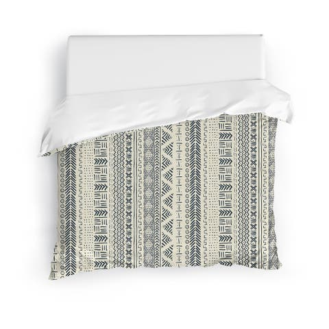 IVORY LANDSCAPE Duvet Cover by Kavka Designs